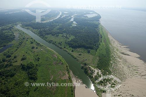 Assunto: Várzea amazônica próxima do encontro dos rios Madeira e Amazonas / Local: Amazonas (AM) / Data: 29 de Outubro de 2007