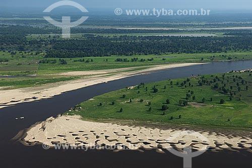 Assunto: Várzea da margem esquerda do rio Amazonas, a leste de Manaus / Local: Amazonas (AM) / Data: 29 de Outubro de 2007