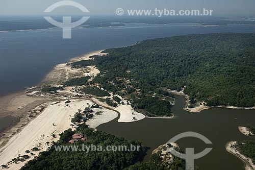 Assunto: Reserva de Desenvolvimento Sustentável do Tupé, a oeste de Manaus, no rio Negro / Local: Amazonas (AM) / Data: 26 de Outubro de 2007