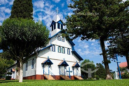 Assunto: Igreja Matriz São João Berchamans / Local: São João do Oeste - Santa Catarina (SC) - Brasil / Data: 13/02/2009