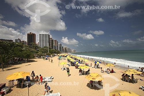 Assunto: Praia do Meireles / Local: Fortaleza - Ceará (CE) - Brasil / Data: Janeiro de 2009