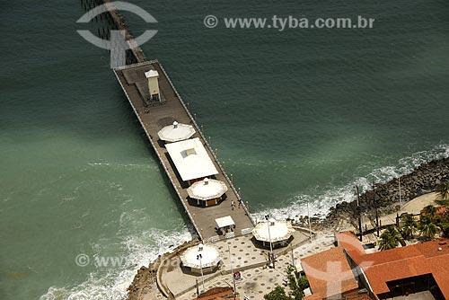 Assunto: Vista aérea da Ponte dos Ingleses (ponto turístico) / Local: Fortaleza - Ceará (CE) - Brasil / Data: Janeiro de 2009