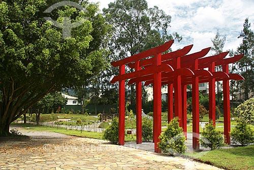 Assunto: Homenagem ao Centenário da Imigração Japonesa no Brasil - Parque das Águas / Local: São Lourenço - Sul de Minas - MG - Brasil / Data: Março de 2009