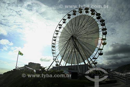 Assunto: Roda Gigante no Forte de Copacabana - Evento Roda Rio 2016 / Local: Copacabana - Rio de Janeiro - RJ - Brasil / Data: Janeiro de 2009