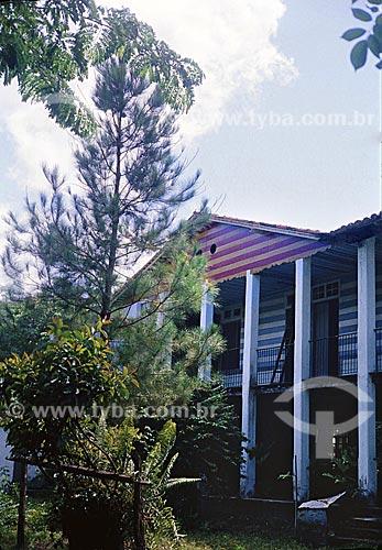 Quinta Carmita, Antigo colégio (internato) mixto às margens do Rio Maguary, construído no final do século 19 pela família Coutinho de Oliveira.  A casa foi demolida  por volta de 1990 - Município de Ananindeua - próximo à Belém do Pará.  - Ananindeua - Pará