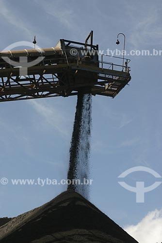 Assunto: Minério de Ferro - Mina de Timbópeba - Vale do Rio Doce / Local: Mariana - Minas Gerais (MG) - Brasil / Data: Agosto de 2007