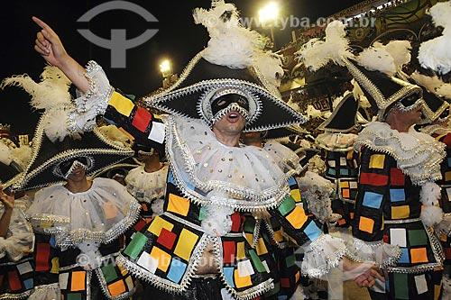 Assunto: Carnaval - Desfile da Escola de Samba Imperatriz Leopoldinense / Local: Sambódromo - Rio de Janeiro - RJ - Brasil / Data: 24/02/2009
