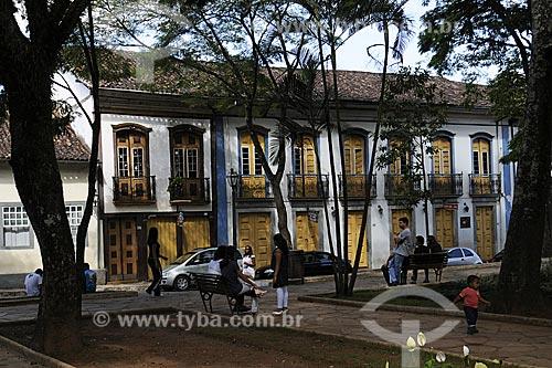 Assunto: Casario colonial - Praça Gomes Freire / Local:  Mariana - Minas Gerais (MG) - Brasil / Data: 19/04/2009