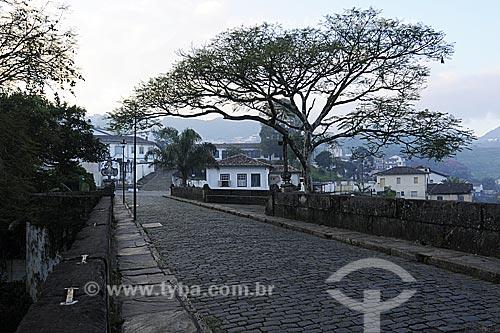 Assunto: Ponte Marília de Dirceu, também conhecida como Ponte dos Suspiros / Local: Ouro Preto - Minas Gerais (MG) - Brasil / Data: 21/04/2009