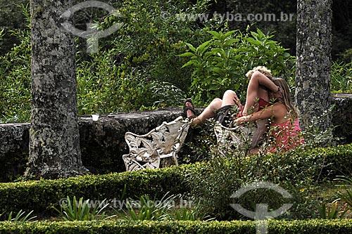 Assunto: Casal no Santuário Ecológico do Caraça/ Local: Parque Natural do Caraça  - Minas Gerais (MG) - Brasil / Data: 21/04/2009