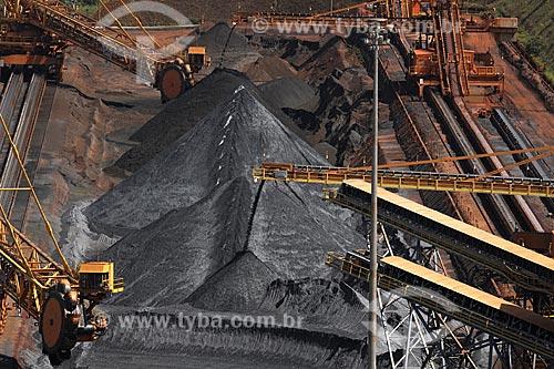 Assunto: Mina Brucutu da Companhia Vale, uma das maiores reservas do Quadrilátero Ferrífero / Local: São Gonçalo do Rio Abaixo - Minas Gerais (MG) - Brasil / Data: 23/04/2009