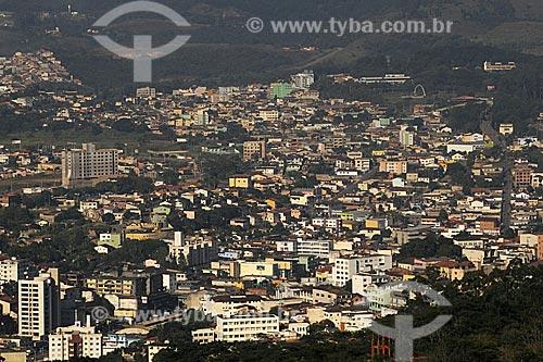 Assunto: Vista da cidade de Itabira do ponto de vista do Pico do Amor / Local:  Minas Gerais (MG) - Brasil / Data: 24/04/2009