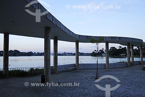 Assunto: Casa do Baile no Complexo da Pampulha   / Local: Belo Horizonte - Minas Gerais - Brasil / Data: 15/04/2009  Todo o conjunto arquitetônico e paisagístico de Pampulha é Patrimônio Histórico Nacional desde 15-12-1997.