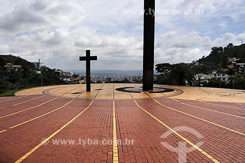 Assunto: Praça do Papa / Local: Belo Horizonte - Minas Gerais (MG) - Brasil / Data: 14-04-2009