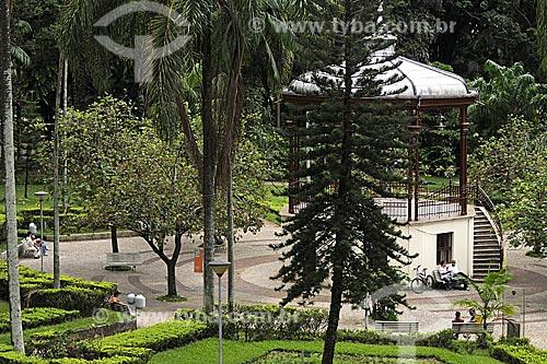 Coreto no Parque Municipal Américo Renné Giannetti    - Belo Horizonte - Minas Gerais - Brasil