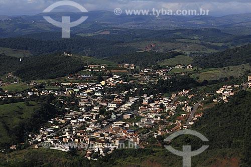 Assunto: Vista de Itabirito do Mirante Alto do Cristo / Local: Minas Gerais (MG) - Brasil / Data: 18-04-2009