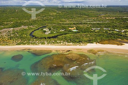 Assunto: Vista aérea da Praia do Forte / Local: Mata de São João - Bahia (BA) - Brasil / Data: Fevereiro de 2006