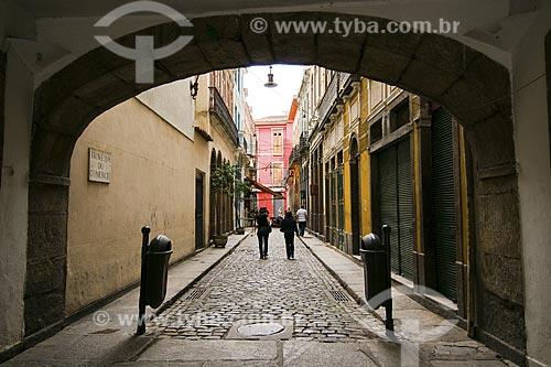Assunto: Arco do Teles na Travessa do Comércio / Local: Centro - Rio de Janeiro - RJ - Brasil / Data: Dezembro de 2008