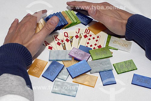 Assunto: Jogo de pôquer / Local: Rio de Janeiro - RJ - Brasil / Data: 2008