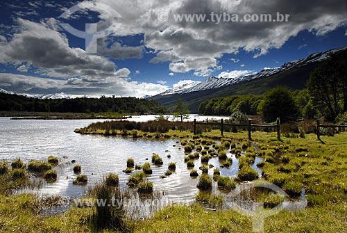 Assunto: Vista do  Lago Rocca no Parque Nacional Terra do Fogo / Local: Ushuaia - Argentina / Data: 11 / 2008