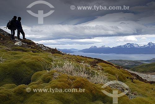 Assunto: Trilha para o Cerro Guanaco. Parque Nacional Terra do Fogo / Local: Ushuaia - Argentina / Data: 11 / 2008