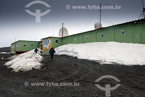 Assunto: Estação Antártica Comandante Ferraz / Local: Baía do Almirantado - Península Antártica / Data: 11 / 2008