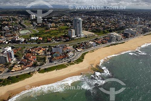 Assunto: Vista aérea da cidade de Macaé no norte fluminense. Praia e bairro de Cavaleiros, zona mais valorizada de Macaé. / Local: Macaé - RJ - Brasil / Data: 04 / 2009