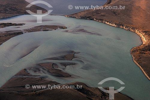 Assunto: Vista aérea da Penílsula Valdés / Local: Patagônia - Argentina / Data: 15/02/2008