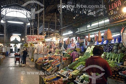 Assunto: Mercado de comida e antiguidades / Local: Bairro San Telmo - Buenos Aires - Argentina / Data: Fevereiro de 2008
