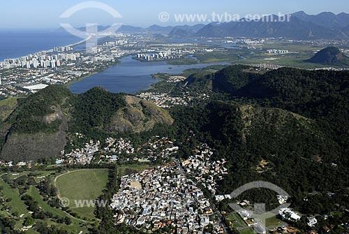 Assunto: Vista aérea da Barra da Tijuca / Local: Rio de Janeiro - RJ - Brasil / Data: 06/2008