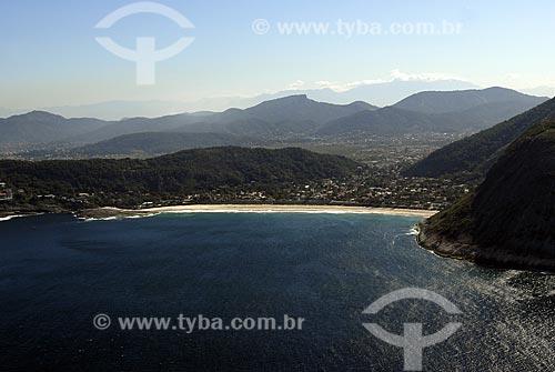 Assunto: Vista aérea da Praia de Itacoatiara / Local: Niterói - RJ - Brasil / Data: 06/2008