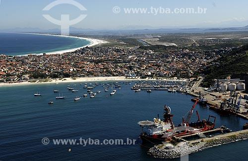 Assunto: Praia dos Anjos, Porto do Forno e Praia Grande ao fundo / Local: Búzios - RJ - Brasil / Data: 06/2008