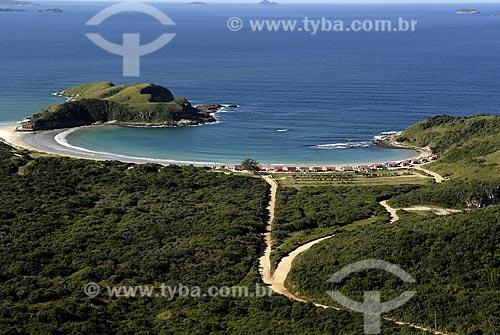 Assunto: Vista aérea da Praia das Conchas / Local: Cabo Frio - RJ - Brasil / Data: 06/2008
