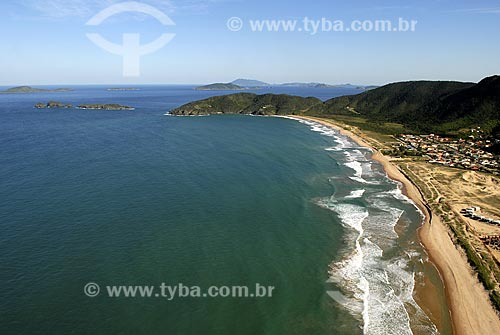 Assunto: Vista aérea da Praia de Tucuns / Local: Búzios - RJ - Brasil / Data: 06/2008