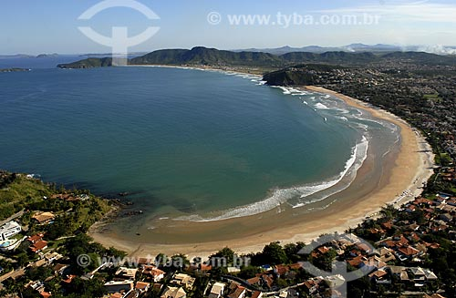 Assunto: Vista aérea da Praia de Geribá / Local: Búzios - RJ - Brasil / Data: 06/2008