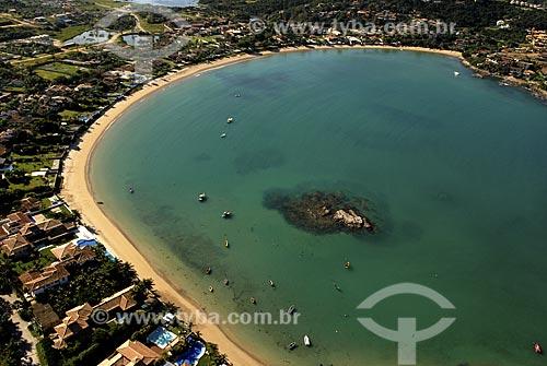 Assunto: Vista aérea da Praia da Ferradura / Local: Búzios - RJ - Brasil / Data: 06/2008
