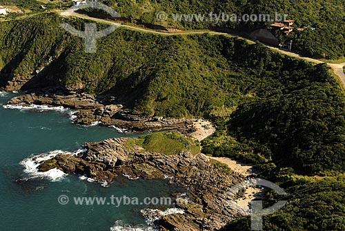 Assunto: Vista aérea da Praia das Focas / Local: Búzios - RJ - Brasil / Data: 06/2008