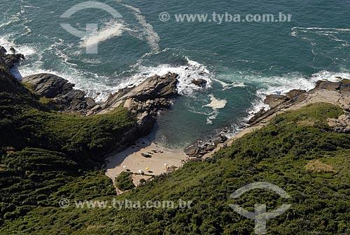 Assunto: Vista aérea da Praia Olho de Boi / Local: Búzios - RJ - Brasil / Data: 06/2008