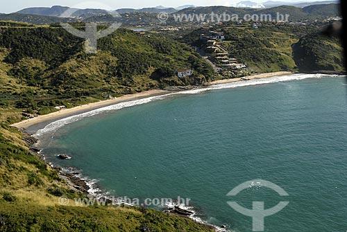Assunto: Vista aérea da Praia Brava / Local: Búzios - RJ - Brasil / Data: 06/2008