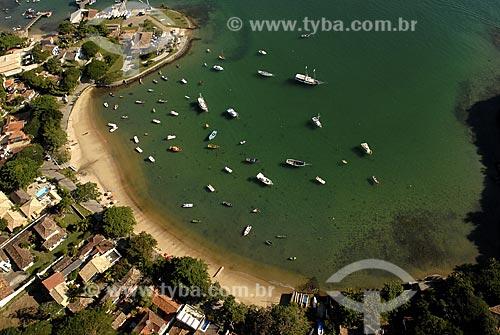 Assunto: Vista aérea da Praia dos Ossos / Local: Búzios - RJ - Brasil / Data: 06/2008