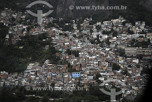 Assunto: Vista aérea da Favela do Vidigal / Local: São Conrado - Rio de Janeiro - RJ - Brasil / Data: Junho de 2008