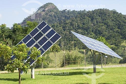 Assunto: Painel Solar na UTE Norte Fluminense (Usina Termoelétrica), em Macaé / Local: Macaé - Rio de Janeiro (RJ) - Brasil / Data: 2008