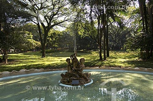 Assunto: Chafariz do Parque Buenos Aires / Local: São Paulo - São Paulo (SP) - Brasil / Data: 2008