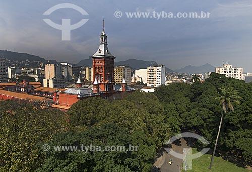 Assunto: Quartel General do Corpo de Bombeiros Militar do Estado do Rio de Janeiro / Local: Campo de Santana - Rio de Janeiro - Rio de Janeiro (RJ) - Brasil / Data: 2008