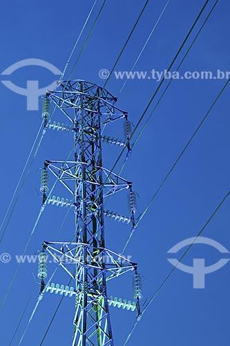 Assunto: Torre de Transmissão de Energia Elétrica / Local: Nova Iguaçu - Rio de Janeiro (RJ) - Brasil / Data: 2008