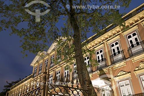 Assunto: Fachada do Edifício Casas Casadas, sede do Espaço Rio Carioca / Local: Laranjeiras - Rio de Janeiro - Rio de Janeiro (RJ) - Brasil / Data: 2008