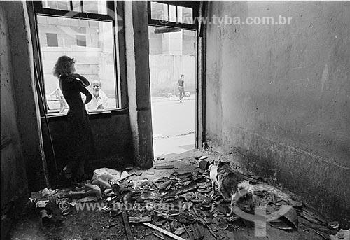 Assunto: Demolição da Zona do Mangue, que abrigava 1.500 prostitutas. / Local: Cidade Nova - Rio de Janeiro - RJ - Brasil / Data: 09/11/1977.