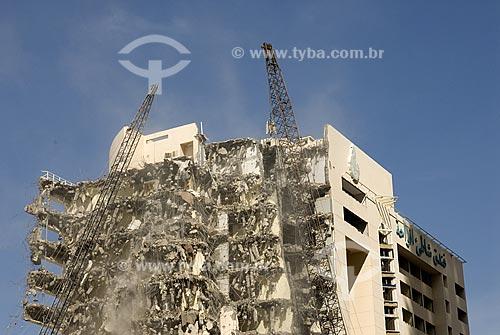 Demolição de prédio - Dubai Marina - Dubai - Emirados Árabes Unidos