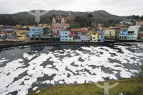 Assunto: Poluição no Rio Tietê / Local: Pirapora do Bom Jesus - SP - Brasil / Data: 2007
