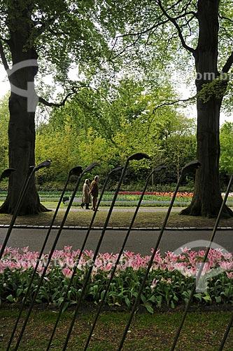 Assunto: Tulipas no Parque Keukenhof, próximo à Amsterdam / Local: Keukenhof - Holanda / Data: Maio 2009